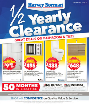 Harvey Norman deals
