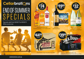 Cellarbrations deals