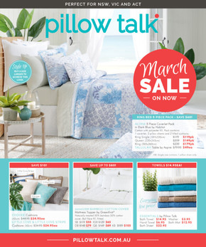 Pillow Talk deals